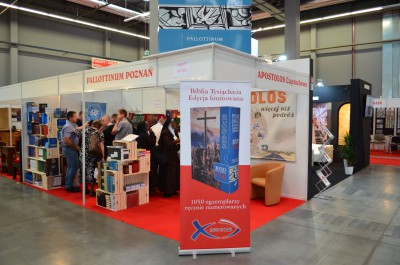 Company stand PALLOTTINUM Wydawnictwo on trade show SACROEXPO & EXPOSITIO 2016