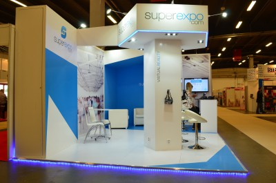 Company stand superexpo.com Poland on trade show SACROEXPO & EXPOSITIO 2016