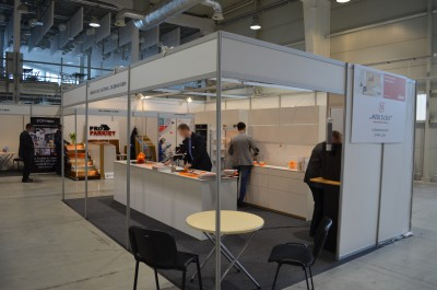 Company stand Meblolux Sp. J. on trade show LUBDOM 2016