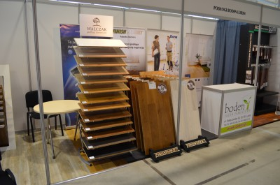 Company stand Boden Sp. z o.o. on trade show LUBDOM 2016