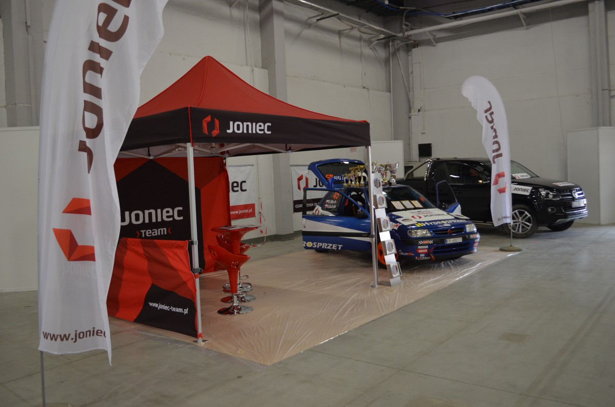 Company stand JONIEC on trade show DUB IT! 2016