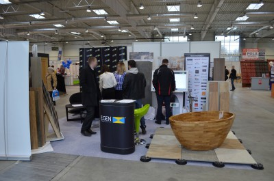 Company stand Egen S.A. on trade show LUBDOM 2016