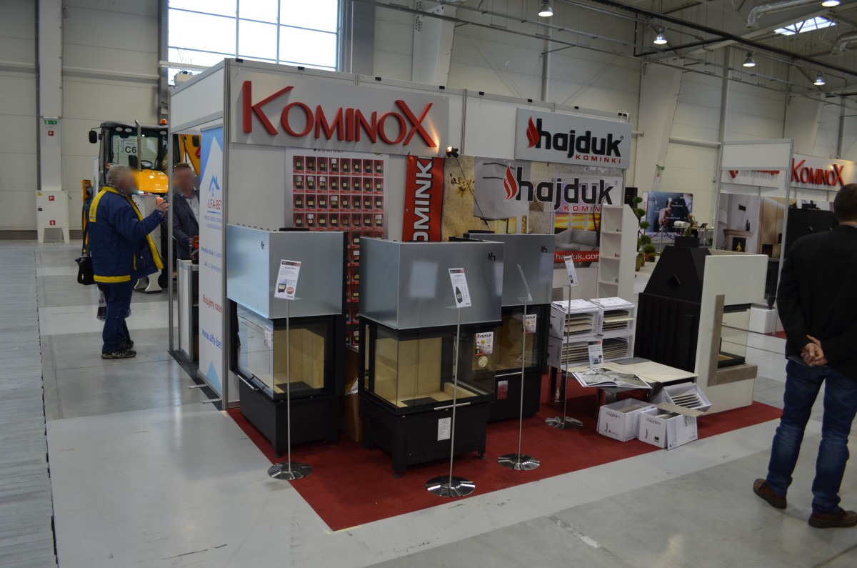 Company stand Kominox Marcin Czerniak on trade show LUBDOM 2016