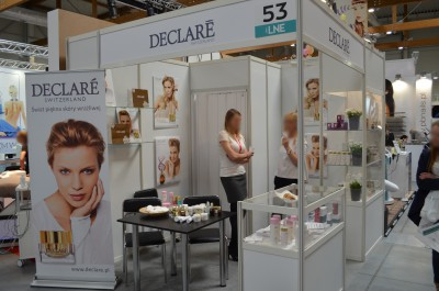 Company stand Kadefarm Sp. z o.o. on trade show LNE & SPA 2016