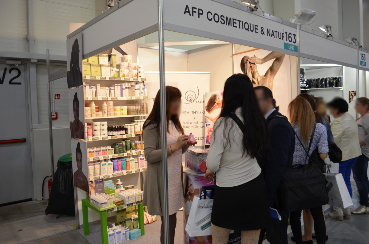 Company stand AFP Business International on trade show LNE & SPA 2016
