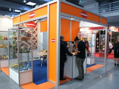 Company stand MAGNOLIA Sp. z o.o. on trade show POLAGRA - FOOD 2013