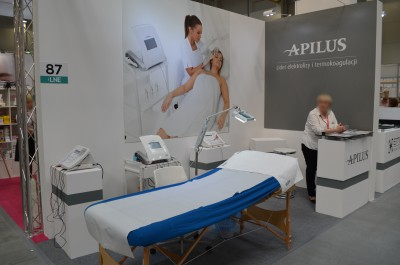 Company stand Beauty In Sp. z o.o./Depileve on trade show LNE & SPA 2016