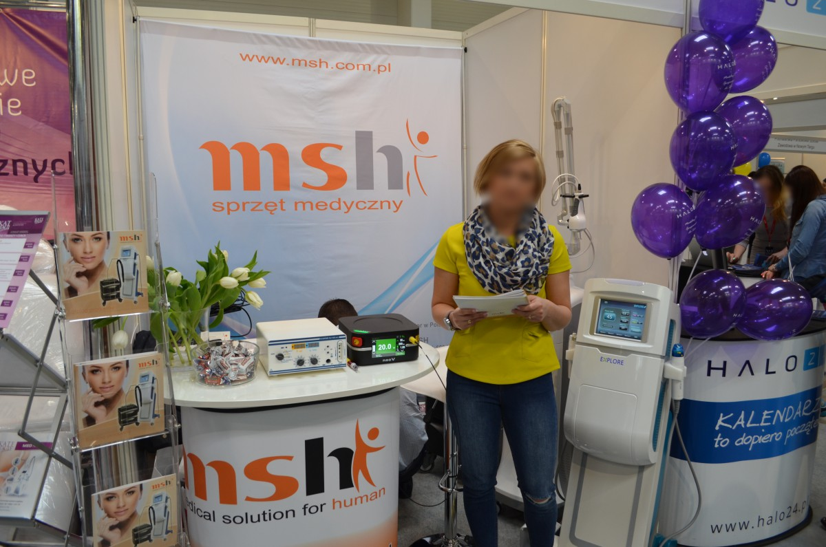 Company stand MSH on trade show LNE & SPA 2016