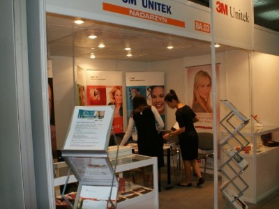 Company stand 3M UNITEK on trade show CEDE 2010
