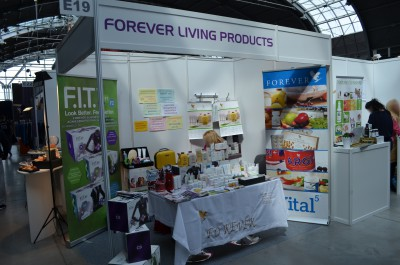 Company stand Forever Living Products - NIEZALEŻNY DYSTRYBUTOR MAGDALENA BŁASZCZAK on trade show ACTIVE & BEAUTY 2016
