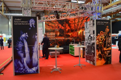 Company stand Lublin Airport on trade show Routes Europe 2016