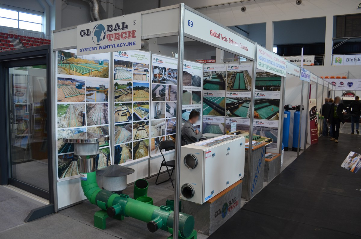 Company stand GLOBAL-TECH PHU on trade show TWÓJ DOM 2016