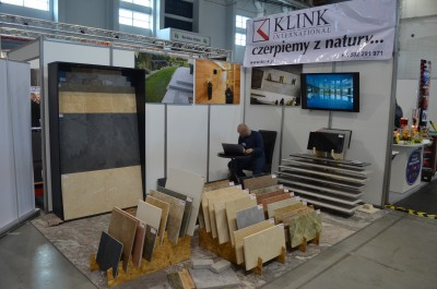 Company stand Klink International  Sp. z o.o. on trade show TWÓJ DOM 2016