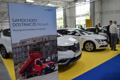Company stand RENAULT NAZARUK-SERVICE LUBLIN SP. Z O.O. on trade show Moto Session 2016