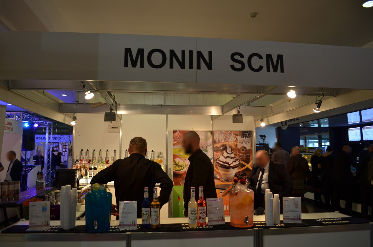 Company stand Scm Sp. z O.o.-monin on trade show TARGI ŚLUBNE 2016