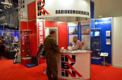 Company stand INEXIM Sp. z o.o. on trade show MSPO & LOGISTYKA 2016
