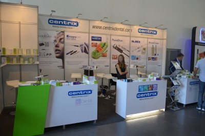 Company stand CENTRIX Inc.  on trade show FDI - Annual World Dental Congress 2016