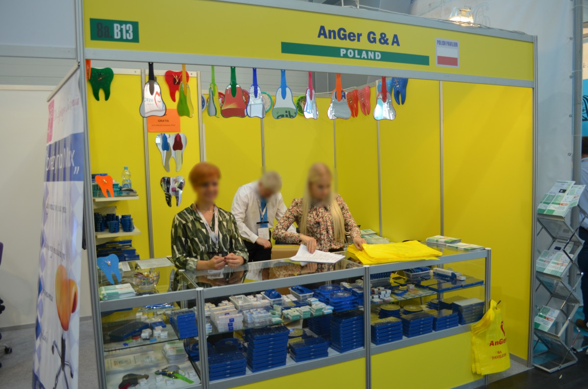 Company stand AnGer G&A on trade show FDI - Annual World Dental Congress 2016