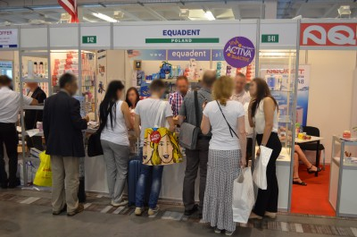 Stoisko firmy EQUADENT Sp. z o.o. na targach FDI - Annual World Dental Congress 2016