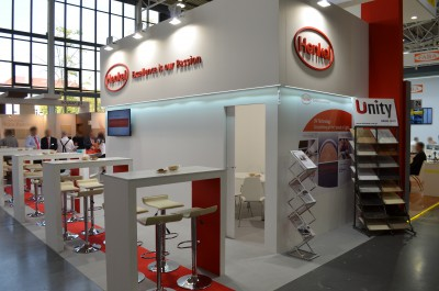 Company stand HENKEL POLSKA Sp. z o.o. on trade show DREMA 2016
