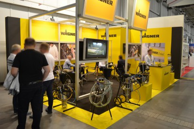 Company stand WAGNER-SERVICE on trade show DREMA 2016