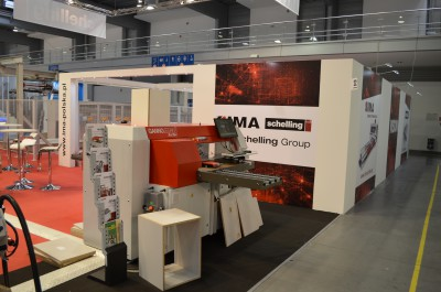 Company stand SCHELLING POLSKA Obrabiarki do Drewna Sp. z o.o. on trade show DREMA 2016