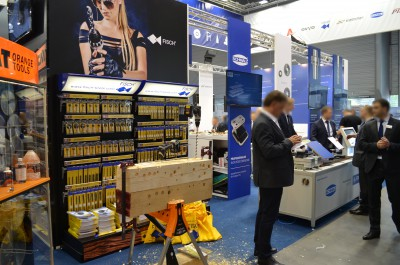 Company stand ITA TOOLS Sp. z o.o. on trade show DREMA 2016