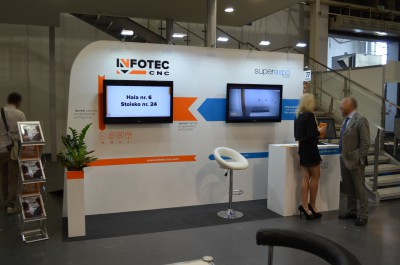 Company stand InfoTEC CNC on trade show DREMA 2016