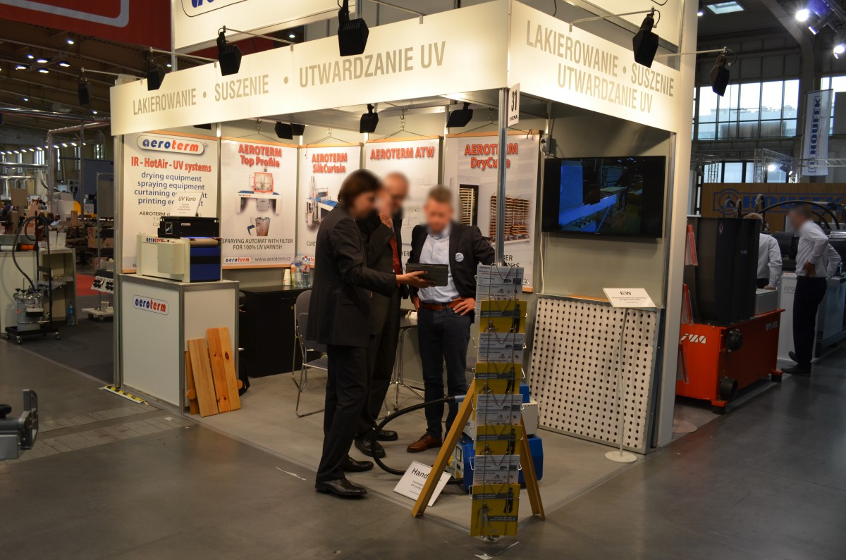 Company stand AEROTERM a.s. on trade show DREMA 2016