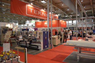 Company stand TEKNIKA SA on trade show DREMA 2016