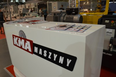 Company stand KMA GROUP Sp. z o.o. on trade show DREMA 2016