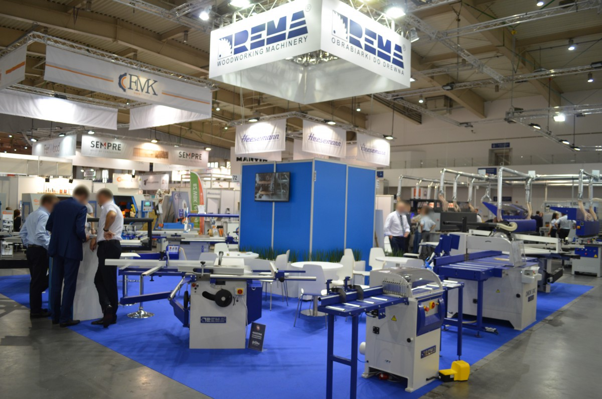 Company stand REMA S.A. on trade show DREMA 2016