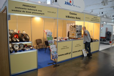 Company stand ZABI Sp. z o.o. on trade show DREMA 2016