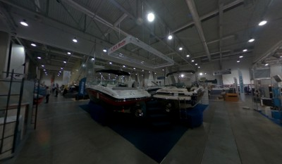 Company stand A.M.S.Boats on trade show BOATSHOW 2013