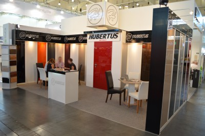 Company stand HUBERTUS MEBLE on trade show FURNICA 2016