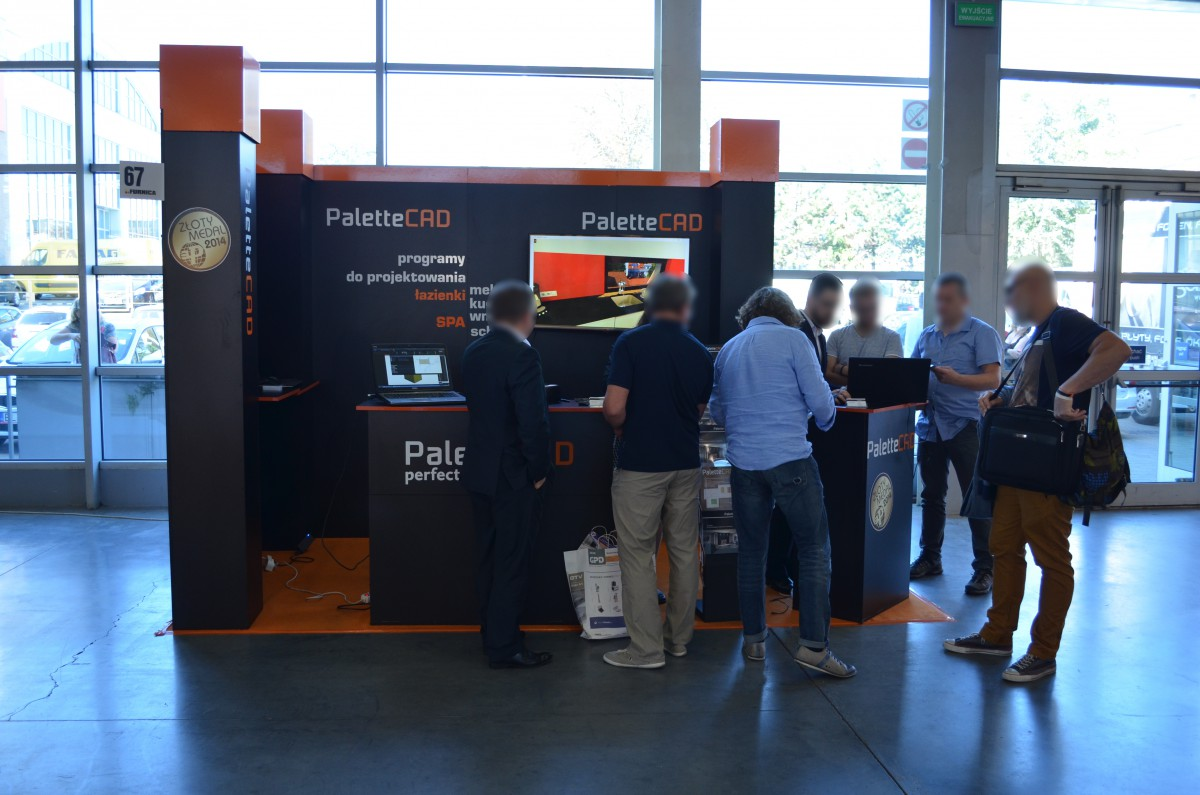 Company stand Palette CAD on trade show FURNICA 2016