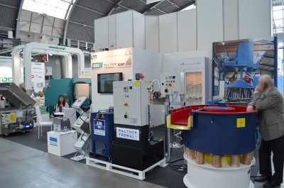 Company stand LTT TRANSFER TECHNOLOGII Sp. z o.o. on trade show METAL & ALUMINIUM & NONFERMET & RECYKLING & CONTROL-TECH 2016
