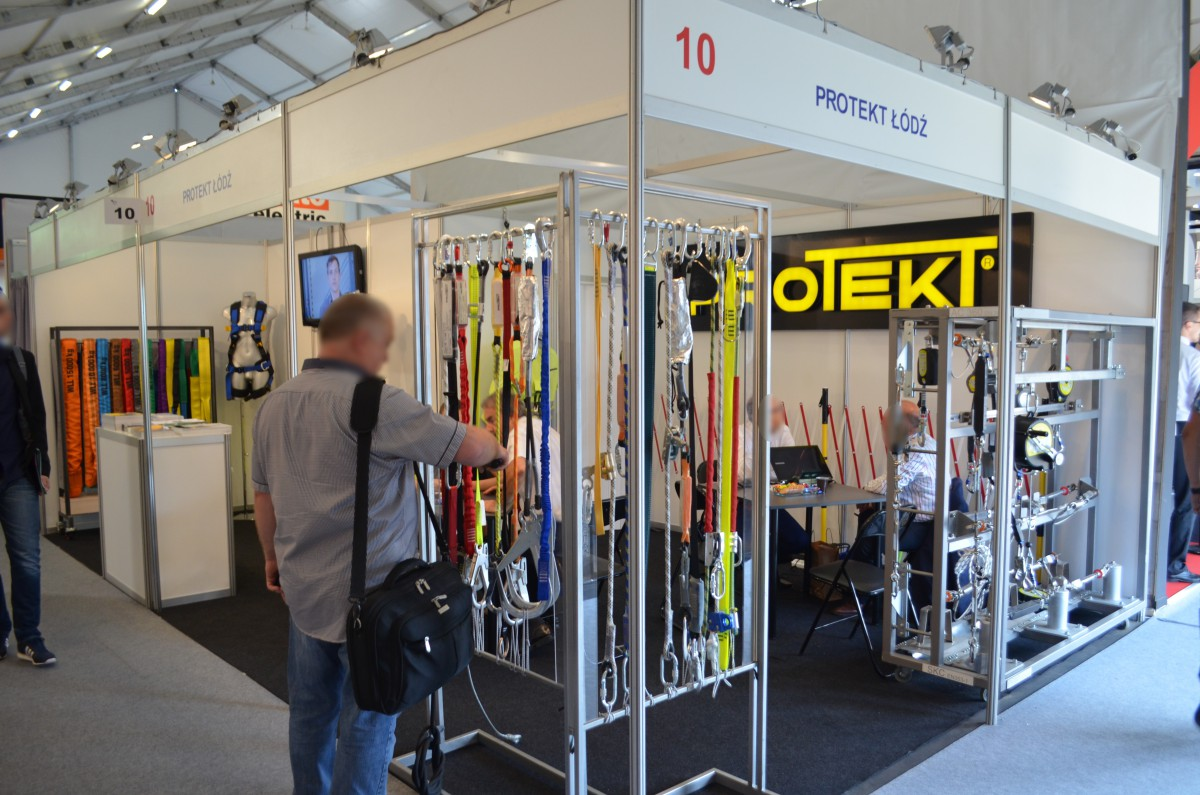 Company stand PROTEKT on trade show ENERGETAB 2016