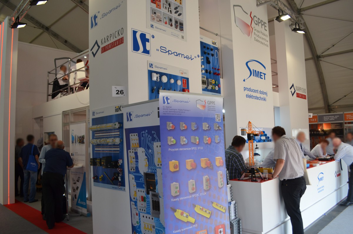 Company stand SIMET S.A. on trade show ENERGETAB 2016