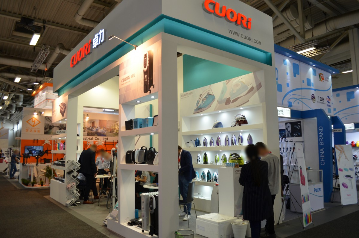 Company stand Cuori Electrical Appliances (Group) Co. Ltd. on trade show IFA BERLIN 2016