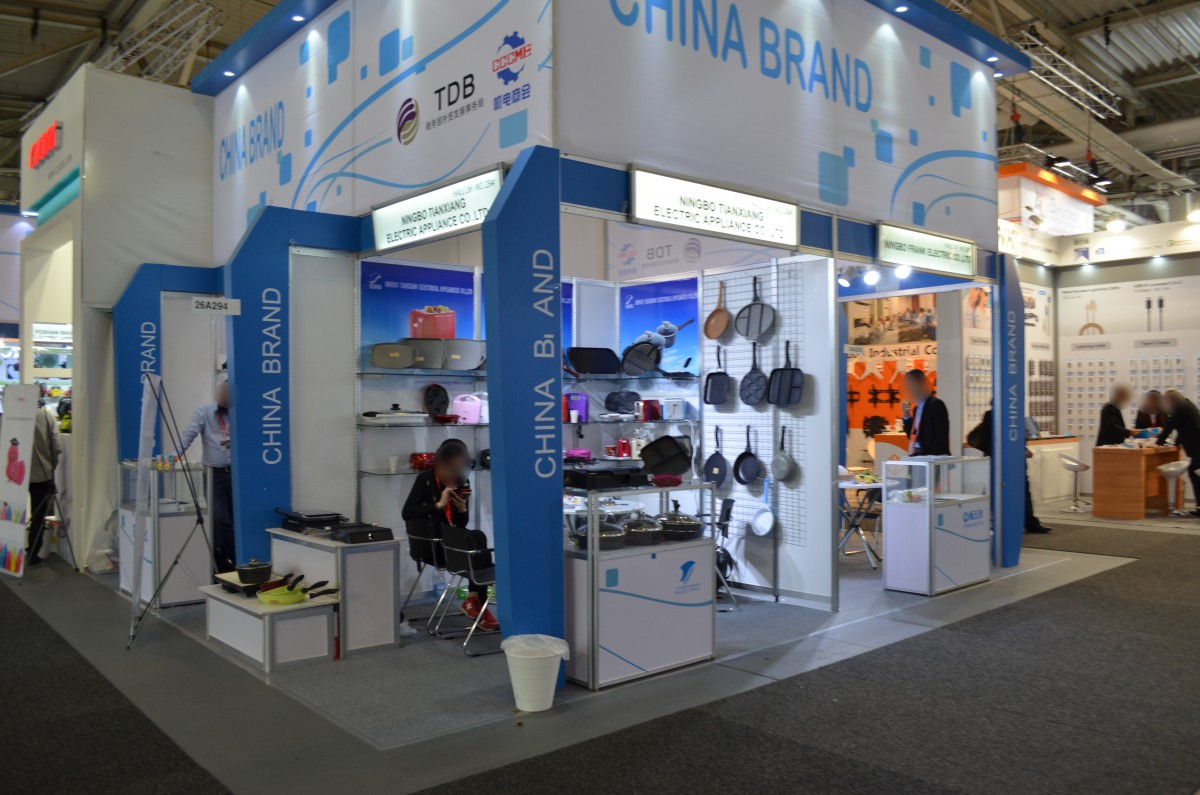 Stoisko firmy NINGBO TIANXIANG ELECTRICAL APPLIANCES CO.,LTD. na targach IFA BERLIN 2016