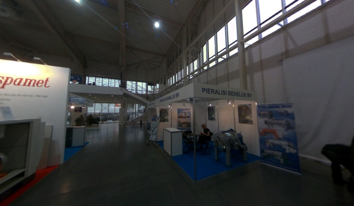 Company stand PIERALISI BENELUX B.V. on trade show POLEKO 2013