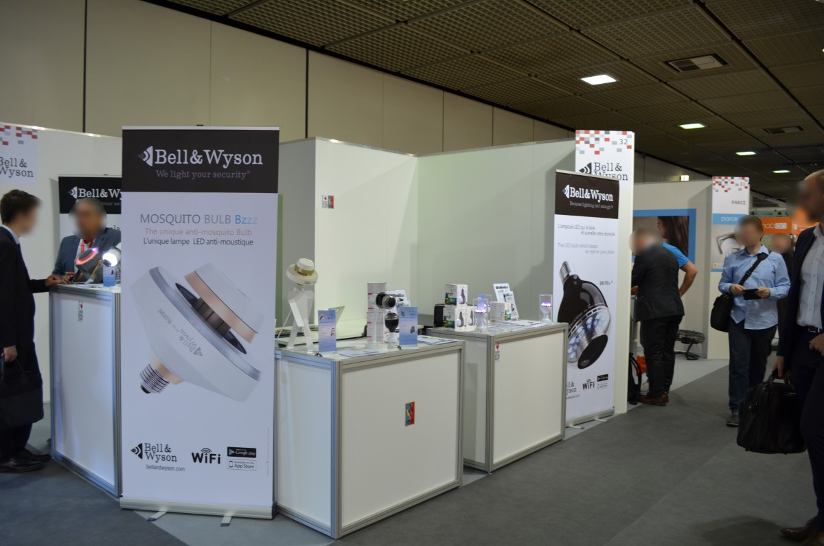 Company stand Bell & Wyson on trade show IFA BERLIN 2016