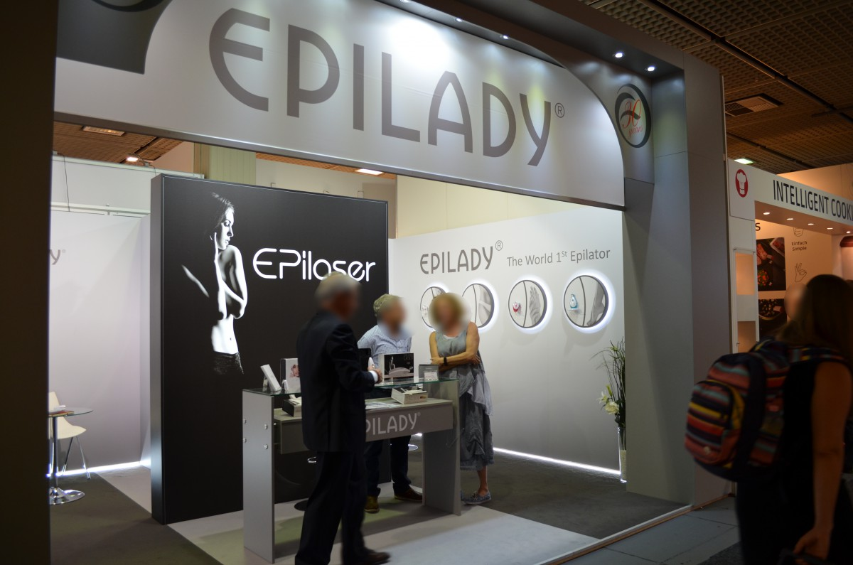 Company stand Epilady 2000 L.L.C. on trade show IFA BERLIN 2016