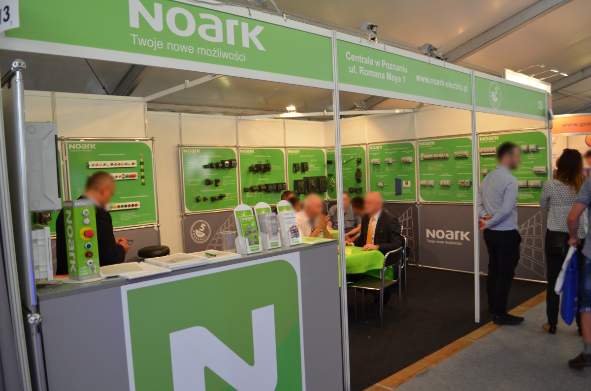 Company stand NOARK ELECTRIC Sp. z o.o. on trade show ENERGETAB 2016