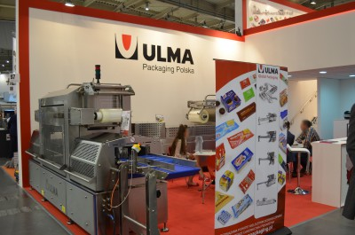 Stoisko firmy ULMA PACKAGING POLSKA Sp. z o.o. na targach POLAGRA-TECH 2016