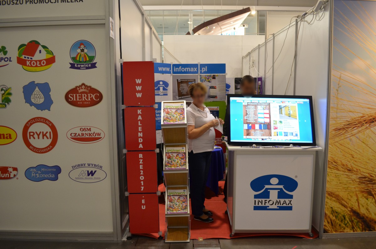 Company stand Infomax Sp.j. on trade show POLAGRA FOOD 2016