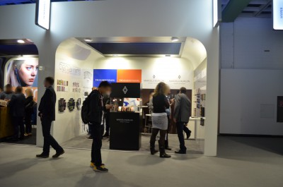 Company stand Benjamins SRL on trade show IFA BERLIN 2016