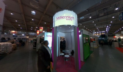 Company stand MILLENNIUM LEASING Sp. z o.o. on trade show POLEKO 2013