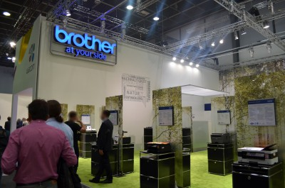 Company stand Brother International GmbH on trade show IFA BERLIN 2016